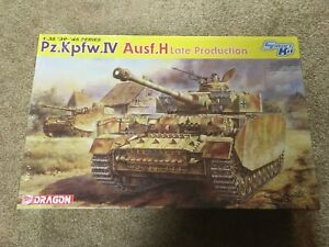 dragon brand Pz.KPfw.IV Ausf.H late production  tank 1/35 scale