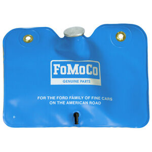 New 1964 Galaxie Washer Fluid Bag Wide Blue Reservoir FoMoCo 66-67 Bronco Ford