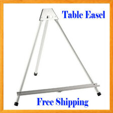 Aluminum Table Easel Light Weight Foldable Canvase Poster Picture Holder Frame