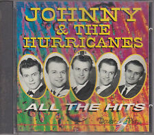 CD 32T JOHNNY AND THE HURRICANES RED RIVER ROCK AND ALL THE HITS