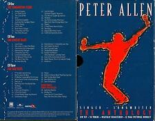 Peter Allen,The Anthology 3cd set incl booklet- 56 digitally remastered tracks