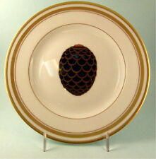 Faberge Imperial Egg Collection Pine Cone Salad Plate New