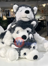 Ikea Livlig Little Cutie Soft Toy Dog Siberian Husky