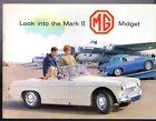 MG Midget MkII 1098cc 1964-66 UK Market Sales Brochure