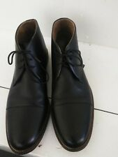Stafford  Tailored Culture  Upper Leather Men Black Ankle boot.Size 12M