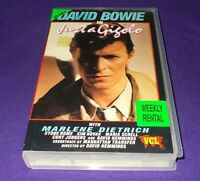 JUST A GIGOLO VHS PAL VCL DAVID BOWIE MARLENE DIETRICH