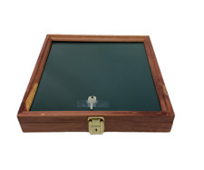 Cedar Wood Display Case 12 X 12 X 2 For Arrowheads Knifes Collectibles Amp More