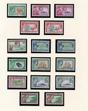 PITCAIRN ISLANDS EARLY ALBUM PAGE MINT LOT 37
