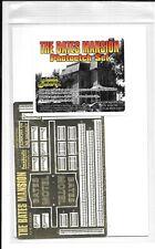 Abs. Grafix Psycho, Die Bates Villa Foto Ätzung Detail Set Für Pll Set, Pgx 190