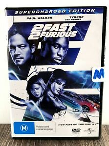 Brand New & Sealed - 2 Fast 2 Furious DVD - Supercharged Edition - Paul Walker