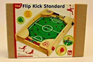 FLIP KICK STANDARD Flipper Fußball Holz Tischkicker I'm TOY 43 x 27,5 x 6 cm