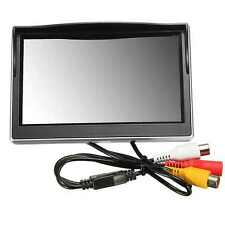 5 Inch Digital Color TFT LCD Screen Monitor Car Monitor Reversing FPV CCTV UK