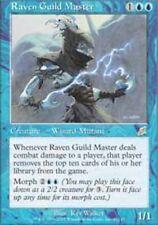 MTG magic cards 1x x1 Light Play, English Raven Guild Master Scourge