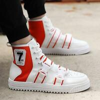 Men Sport High Top Sneakers Casual Running Stylish Athletic Shoes Breathable Hot