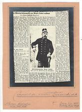 Militärkapellmeister Anton Seifert, alte Aufnahme aus einer Zeitung von 1866