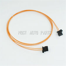 MOST Fiber Optic Cable Connectors Male To Male For Audi BMW Benz Porsche 100CM