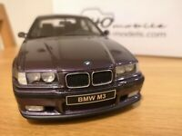 OTTO 1/18 BMW M3 E36 Sedan purple PREMIUM Limited Edition 2500 OTTOMOBILE