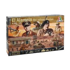 Italeri 1 72 6181 Battle-set el Alamein - Railway Estación