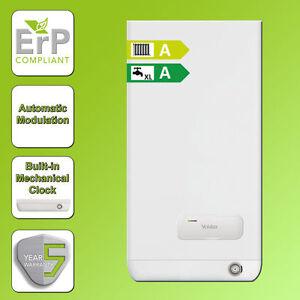 Vokera Easi-Heat-Plus 25c ERP Combi Boiler and Flue and Clock 5YR WARRANTY