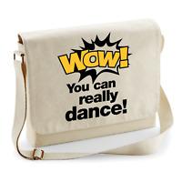 WOW You Can Really Dance Sprüche Tik Meme Tok Cat Umhängetasche Messenger Bag