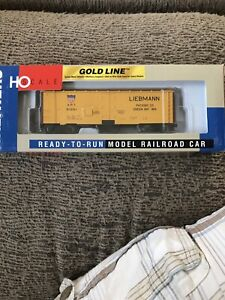 Walthers American Refrigerated Reefer Leibmann Pack. 91561, Gold Line, HO Scale