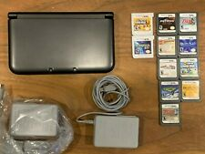 New Nintendo 3DS XL Handheld Console Bundle with 11 Games - Excellent Condition