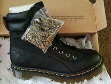 Genuine Dr Martens Santo Leather Padded Collar Black Boots UK 5 EU 38 RRP £159