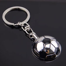 Half Side Football Key Chain Metal Key Ring Football Ornaments Lovely Gifts New