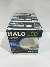 Halo 60-W Equivalent White Dimmable LED Recessed Downlight (LOT of 3) RL460WH840