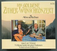 3CD Box Das Goldene Zither Wunschkonzert mit Alfons & Rita Bauer (1996)