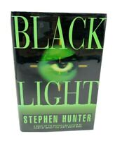 Black Light - First Edition Signed by Stephen Hunter Hardcover Dust Jacket 1996