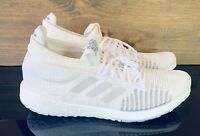 Adidas Pulse Boost HD 'Core White' Men's Size 13 Running Walking Shoes FU7335