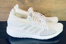 Adidas Pulse Boost HD 'Core White' Men's Size 13 Running Walking Shoes FU7335