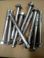 Quantity: 5 3//4x4 1//4 Sleeve Anchor HEX NUT ZINC CR+3