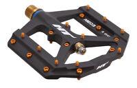 HT Pedals ME03T Evo platform pedals, Ti - black