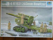Maquette 1/35 WWII TRUMPETER Ref 02307 Soviet B-4 M1931 203mm Howitzer