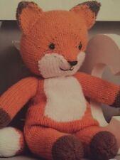 T003 KNITTING PATTERN FANTASTIC MR FOX CHILDREN'S SOFT TOY