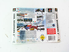 Jaquette Arriere/Back Cover Cool Boarders 2 Sony Playstation 1 PS1 PAL FR