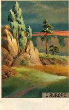 Carte Art Peinture de l'Aurore