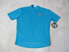 NEW VINTAGE Nike Echelon Cycling Jersey Adult Large Blue Black Bicycle Racing