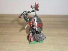 Warhammer Fantasy ciudadela Orcos y Goblins Negro Orc Big Boss-fuera de imprenta METAL