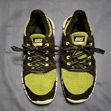 f5a459789f93 BOY S 2013 NIKE FREE 5.0 LE (GS)  631567-001 Black Green Running