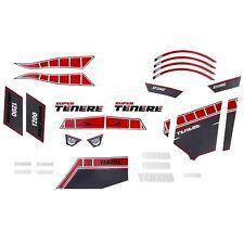 Yamaha Super Tenere Worldcrosser Graphics Kit in Red - Genuine Yamaha-Brand New