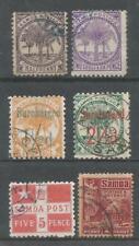 SAMOA 1886 -1921 QV to KGV F.Used 6 values Cat £65+
