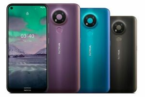 "Nokia 3.4 Dual SIM 6.39"" 64GB 4GB RAM 13MP Octa-core 4000 mAh Phone By FedEx"