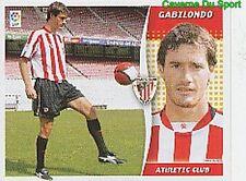 05 GABILONDO ATHLETIC CLUB ESPANA ULTIMOS FICHAJES STICKER LIGA ESTE 2007 PANINI