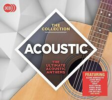 ACOUSTIC THE COLLECTION 3 CD SET - VARIOUS ARTISTS (New Release 2017)