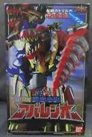 Power Rangers Figure Dino Thunder Zaurus Megazord DX Abarenoh Abaranger Bandai