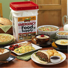 Emergency Food Supplies Augason Farms 176 Servings Storage Survival Bucket MREs
