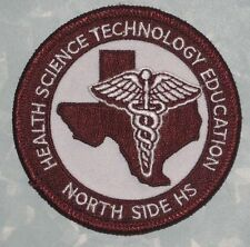 Health Science Technology Education North Side High School Patch - Texas